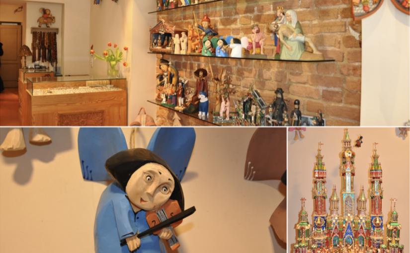 Drewniane ręcznie produkowane anioły oraz szopki bożonarodzeniowe idealne na upominek